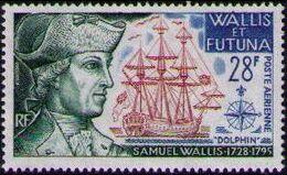 Wallis and Futuna 1973 Explorers and their Ships b