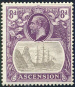 Ascension 1924 Seal of the Colony i
