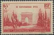 France 1938 20th Anniversary of the Armistice a