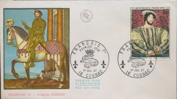 France 1967 French Art (1967-2) FDCa