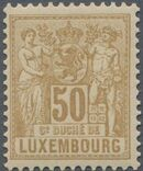 Luxembourg 1882 Industry and Commerce k