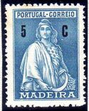 Madeira 1929 Ceres (London Issue) c