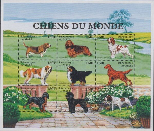Mali 1997 Dogs of the World a