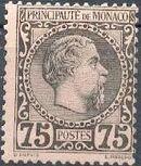 Monaco 1885 Prince Charles III h