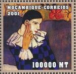 Mozambique 2001 Paintings - Pablo Picasso n