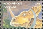 Mozambique 2002 Dinosaurs h