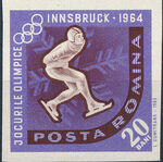 Romania 1963 9th Winter Olympic Games in Innsbruck j
