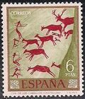 Spain 1967 - Wall Paintings from Paleolithic and Mesolithic Found in Spanish Caves j