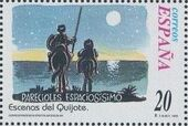 "Spain 1998 Scenes from ""Don Quixote"" v"