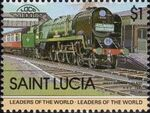 St Lucia 1983 Leaders of the World - LOCO 100 r