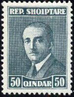 Albania 1925 President Ahmed Zogu g