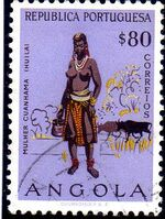 Angola 1957 Indigenous Peoples of Angola h