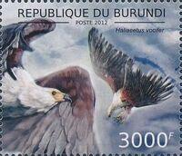 Burundi 2012 Birds of prey g