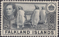 Falkland Islands 1938 George VI and Landscape (1st Issue) g