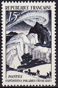 France 1949 French Polar Explorations a