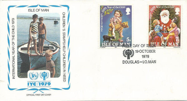 Isle of Man 1979 Christmas and International Year of Child l