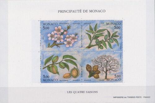 Monaco 1993 The Four Seasons of an Almond Tree Sa
