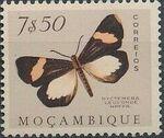 Mozambique 1953 Butterflies and Moths r