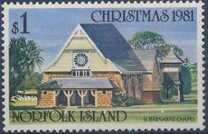 Norfolk Island 1981 Christmas (Churches) d