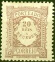 Portugal 1904 Postage Due Stamps c