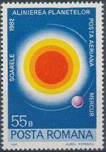 Romania 1981 Solar System Planets a