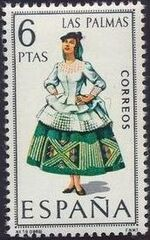 Spain 1968 Regional Costumes Issue g