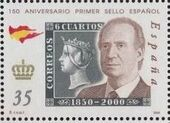 Spain 2000 150th Anniversary of First Spanish Stamp b
