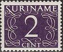 Surinam 1948 Numerals c