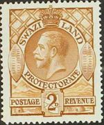 Swaziland 1933 George V c