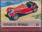 Tuvalu-Funafuti 1984 Leaders of the World - Auto 100 (1st Group) l