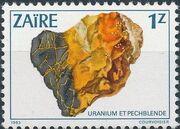 Zaire 1983 Minerals d