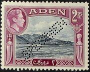 Aden 1939 Scenes - Definitives ks