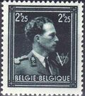Belgium 1944 King Leopold III Crown and V e