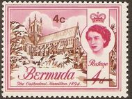 Bermuda 1970 Definitive Issue of 1962 Surcharged d