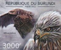 Burundi 2012 Birds of prey m
