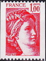France 1977 Sabine after Jacques-Louis David (1748-1825) (1st Issue) d