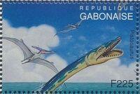 Gabon 1995 Prehistoric Wildlife m