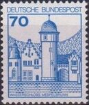 Germany, Federal Republic 1977 Strongholds and Castles f