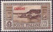 Italy (Aegean Islands)-Carchi 1932 50th Anniversary of the Death of Giuseppe Garibaldi h