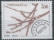 Monaco 1982 The Four Seasons of the Peach Tree d