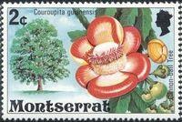Montserrat 1976 Flowering Trees b
