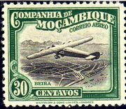 Mozambique Company 1935 Inauguration of the Airmail (2nd Issue) e