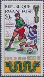 Rwanda 1970 Football World Cup - Mexico b