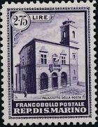 San Marino 1932 Opening of New General Post Office e