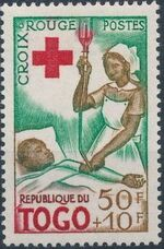 Togo 1959 100th Anniversary of International Red Cross c