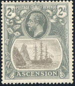 Ascension 1924 Seal of the Colony d