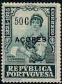 Azores 1925 Birth Centenary of Camilo Castelo Branco o.jpg