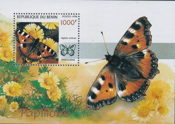Benin 1998 Butterflies ss