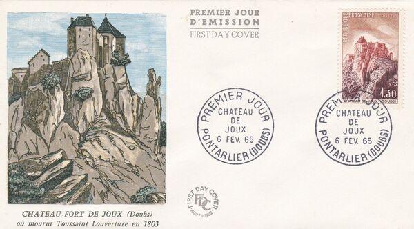 France 1965 Tourism FDCb