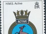 Gibraltar 1984 Royal Navy Crests 3rd Group